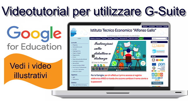 Video illustrativi di G-Suite
