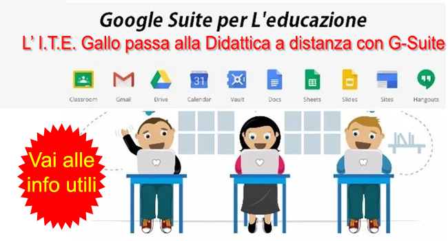 G-Suite for Educational: strumenti utili da utilizzare