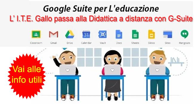 G-Suite for Educational: strumenti utili da utilizzare